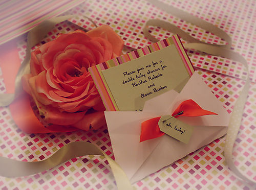 A double baby shower invite ideas 2