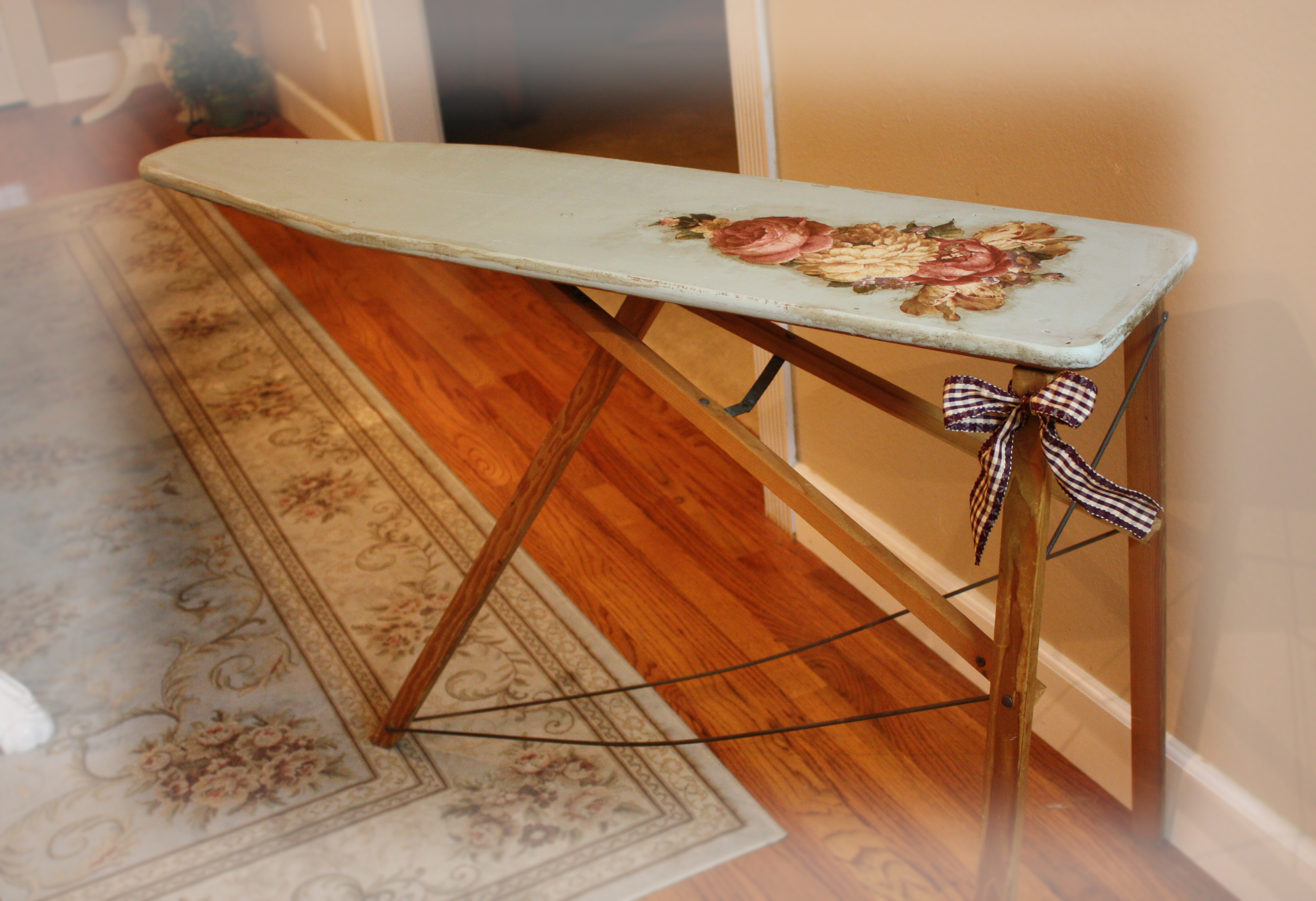 Notes From A Cottage Industry Vintage Ironing Board Romance