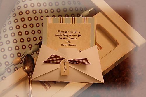 A double baby shower invite ideas 5