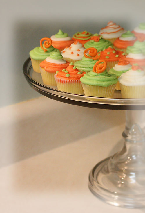 Babycakes in lime green and orange 005