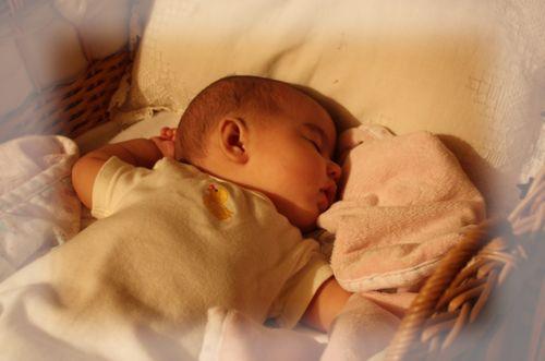 Isabelle 5 30 09 sleeping angel