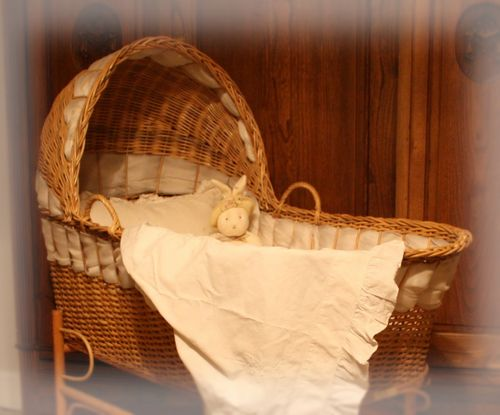 Wicker bassinet1