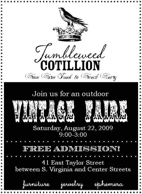 Tumbleweed cotillion 08 22 09