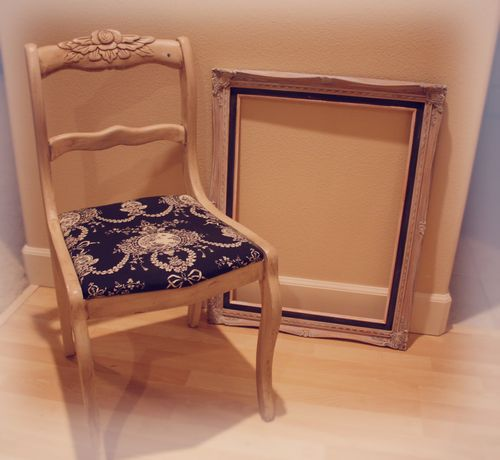 Chair and frame 005