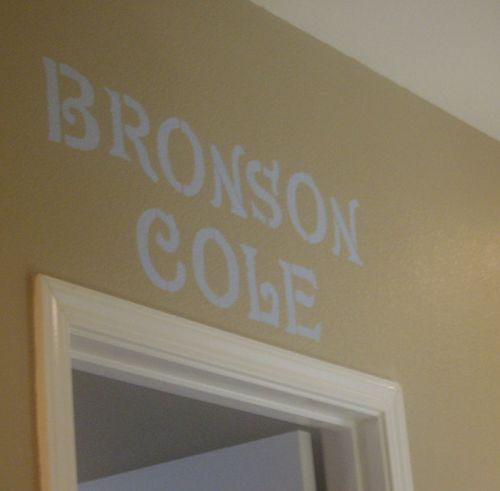 Bronson's room 1