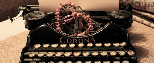Typewriter heart