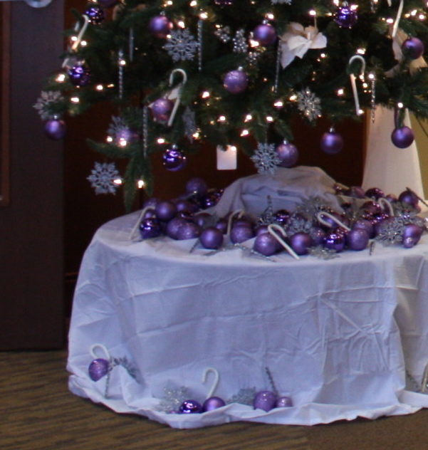Notes from A Cottage Industry: The Christmas spirit hits the office ...