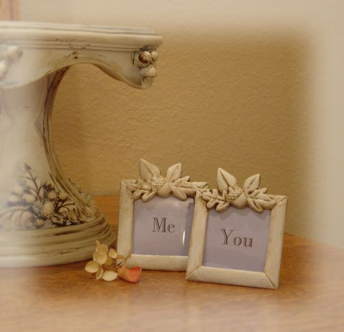 Me and you place cards