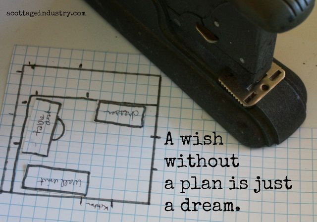 A wish without a dream is just a plan acottageindustry.com