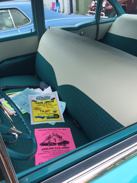 Truck bench seat upholstery idea