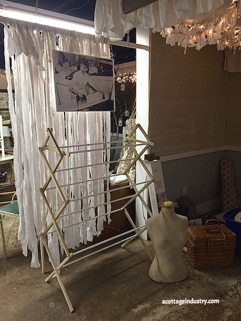 laundry, booth space, a cottage industry
