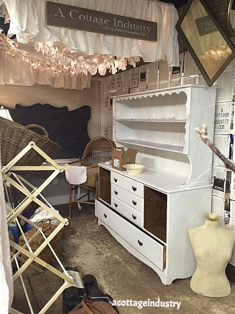 booth space, vintage, a cottage industry