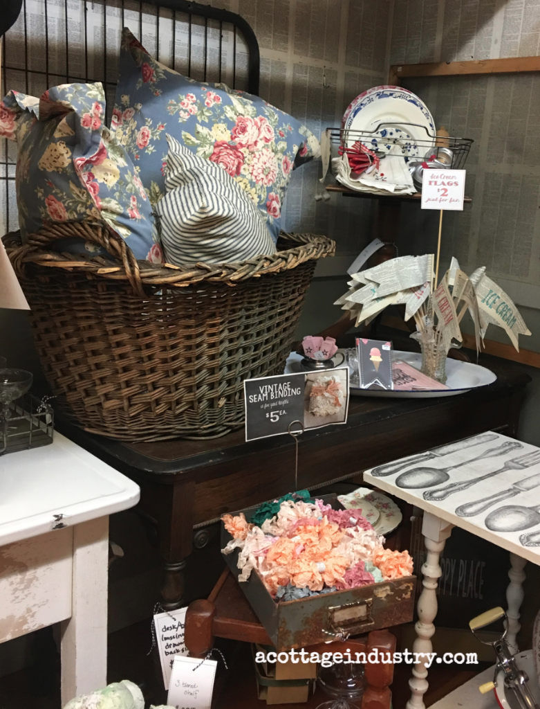 Booth at Camas Antiques July 2017