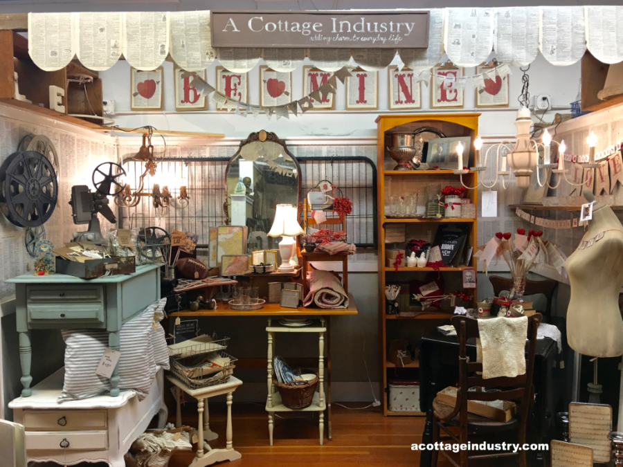 camas antiques booth mid january 2018