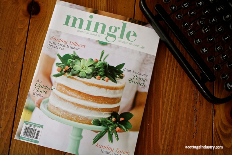 acottageindustry.com mingle magazine