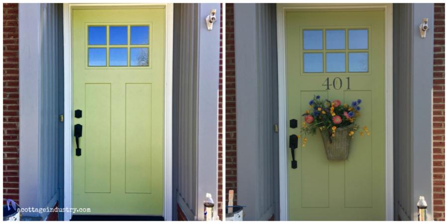 Door with address acottageindustry
