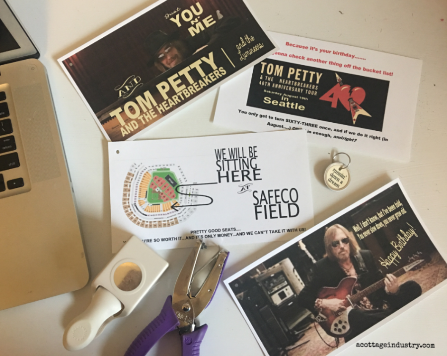 Tom Petty, happy birthday, creative gift wrap