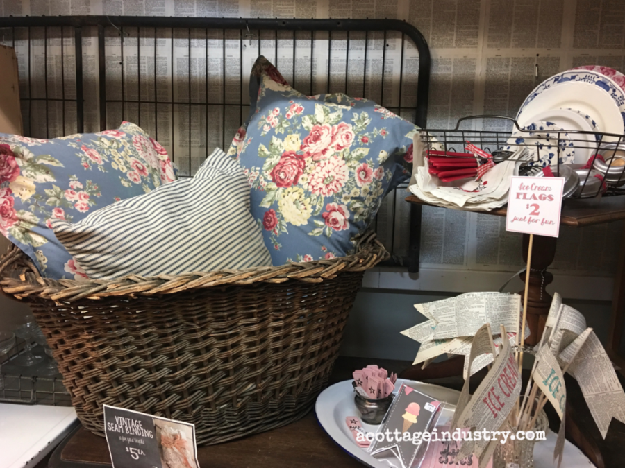 A Cottage Industry Booth July 2017