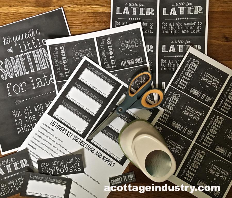 leftovers printable