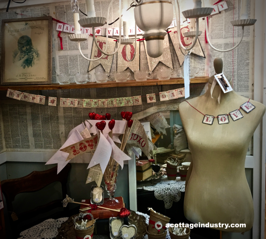 Valentines at Camas Antiques