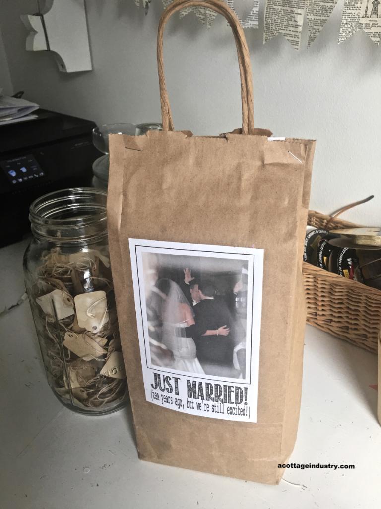 anniversary goodie bag