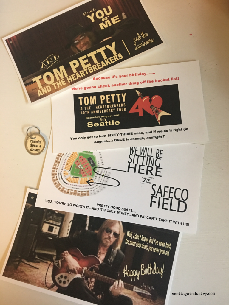 tom petty, concert, surprise