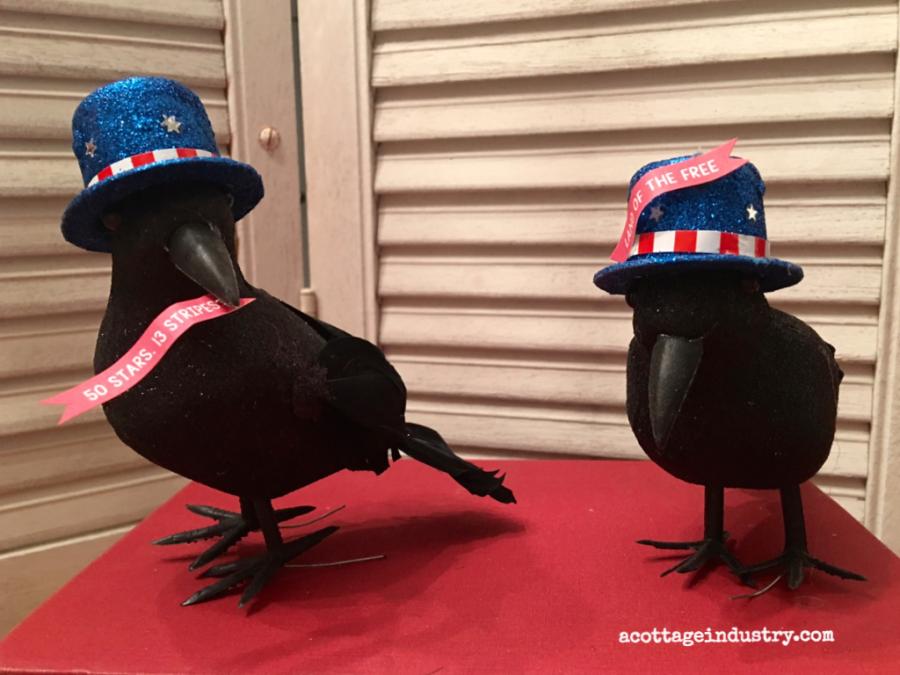 patriotic birds