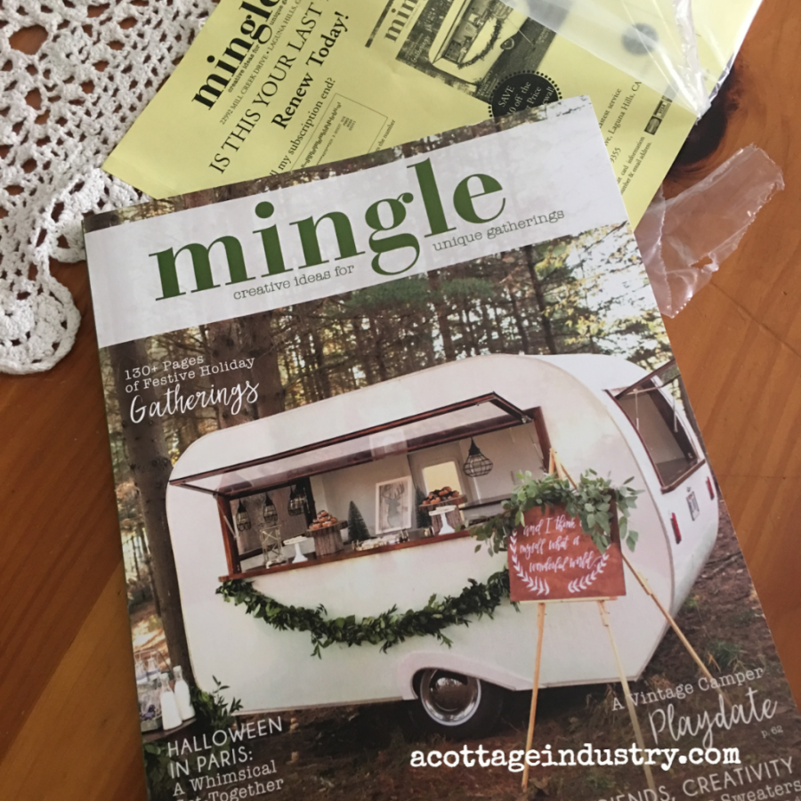 Mingle magazine!