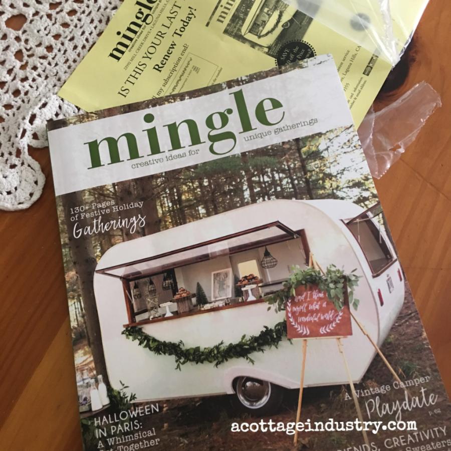 Mingle magazine!