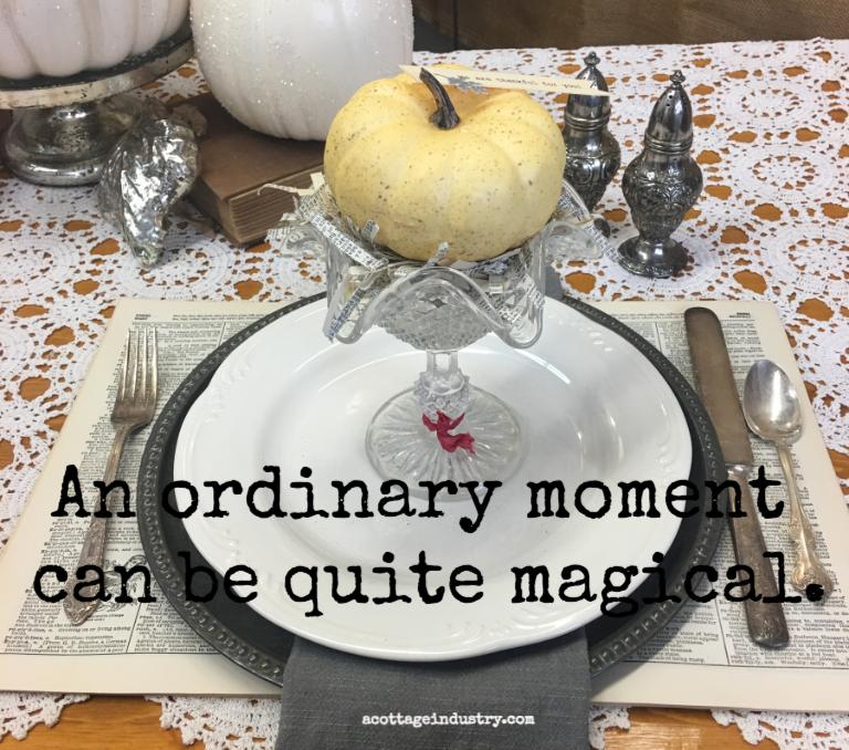 autuamn table setting