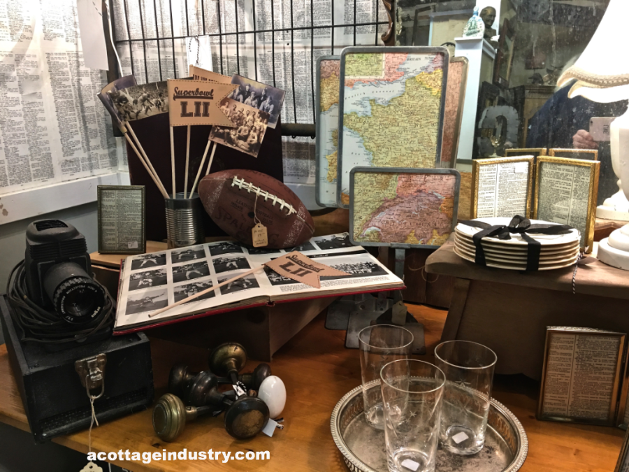 Camas Antiques Booth January 2018