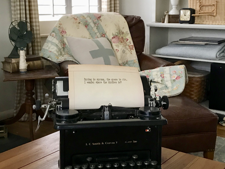 notes from a cottage industry March 26 2020