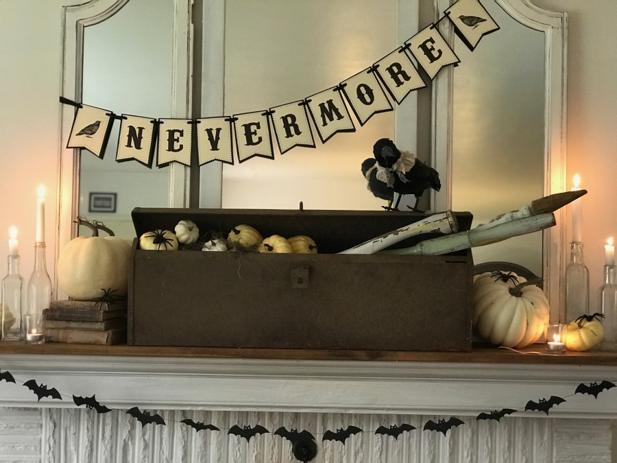 A Cottage Industry Fall Mantel 3