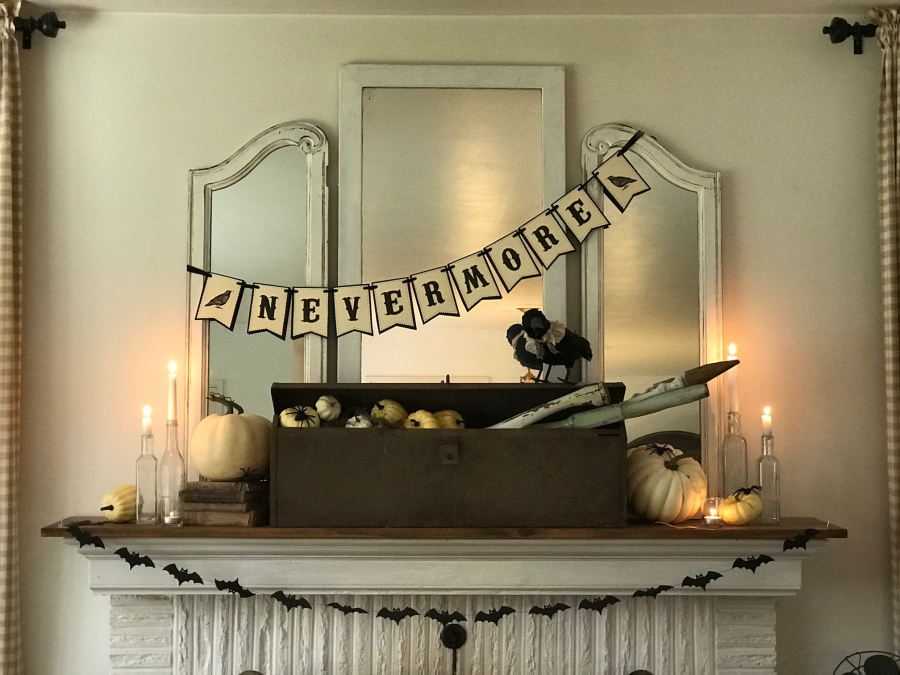 A Cottage Industry Fall Mantel 2