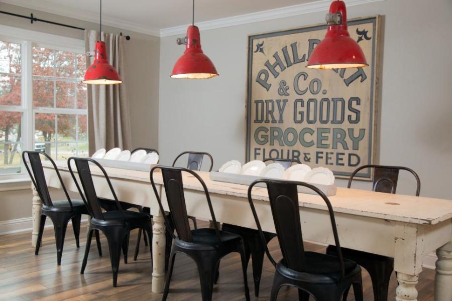 Dining Room Sign Idea from Fixer Upper