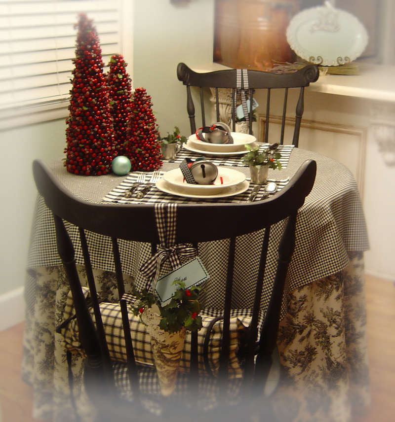 ... set up rustic dining design. Christmas_dinner_soire_2 & setting the table for christmas dinner | My Web Value