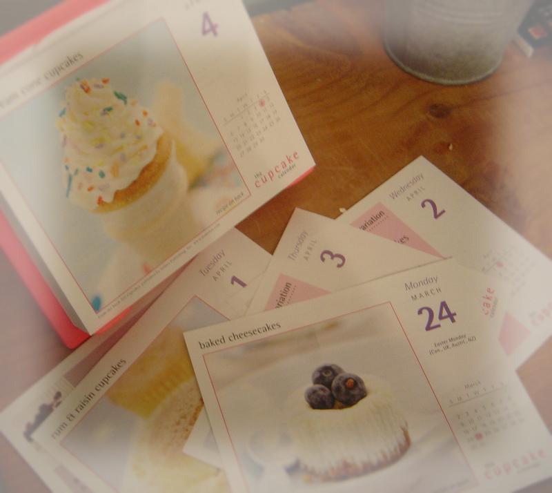 A_cupcake_calendar