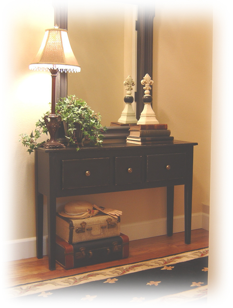 Foyer Ideas Bench : Notes from a cottage industry posts march